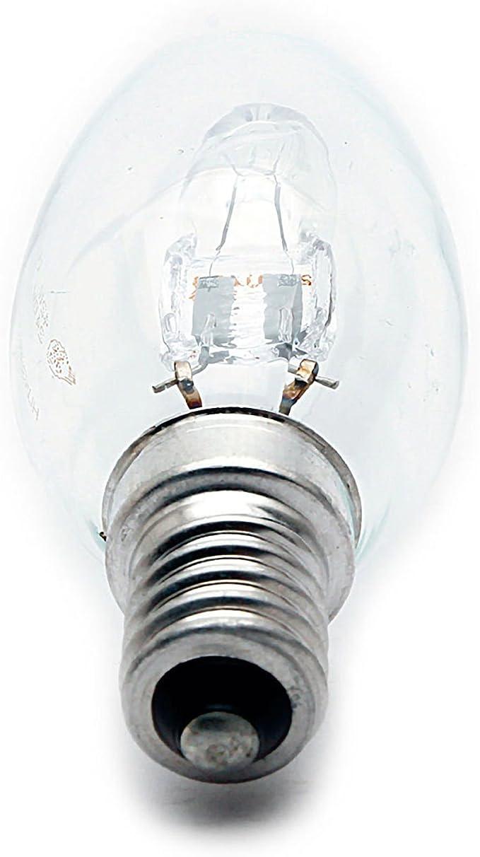 4 X Energy Saving Halogen Bougie 42 W = 55W-60W SES E14 eco classic Ampoules,
