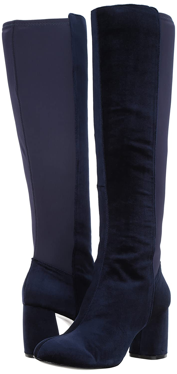 Nine West Women's Knowone Fabric Knee High US|Navy/Navy Boot B071S36BBC 9.5 B(M) US|Navy/Navy High Fabric 73e8de