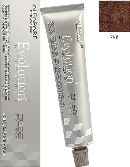 Alfaparf Evolution of Color 7 NB Medium Natural Warm Blonde Permanent Hair Color 2.05 oz. (58.2 g) by Alfaparf Milano