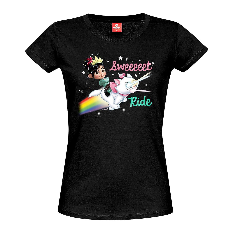 Ralph reichts Disney Damen T Shirt Vanellope Marie Sweet