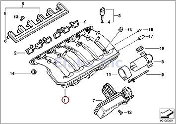 Amazon.com: BMW Genuine Engine Air Fuel Preparation Intake Manifold 530i  330Ci 330i 330xi X5 3.0i 530i X3 3.0i Z4 3.0i Z3 3.0i: AutomotiveAmazon.com