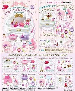 Re-Ment Miniature Sanrio My Melody Secret Dress up Room Full Set 8 Packs