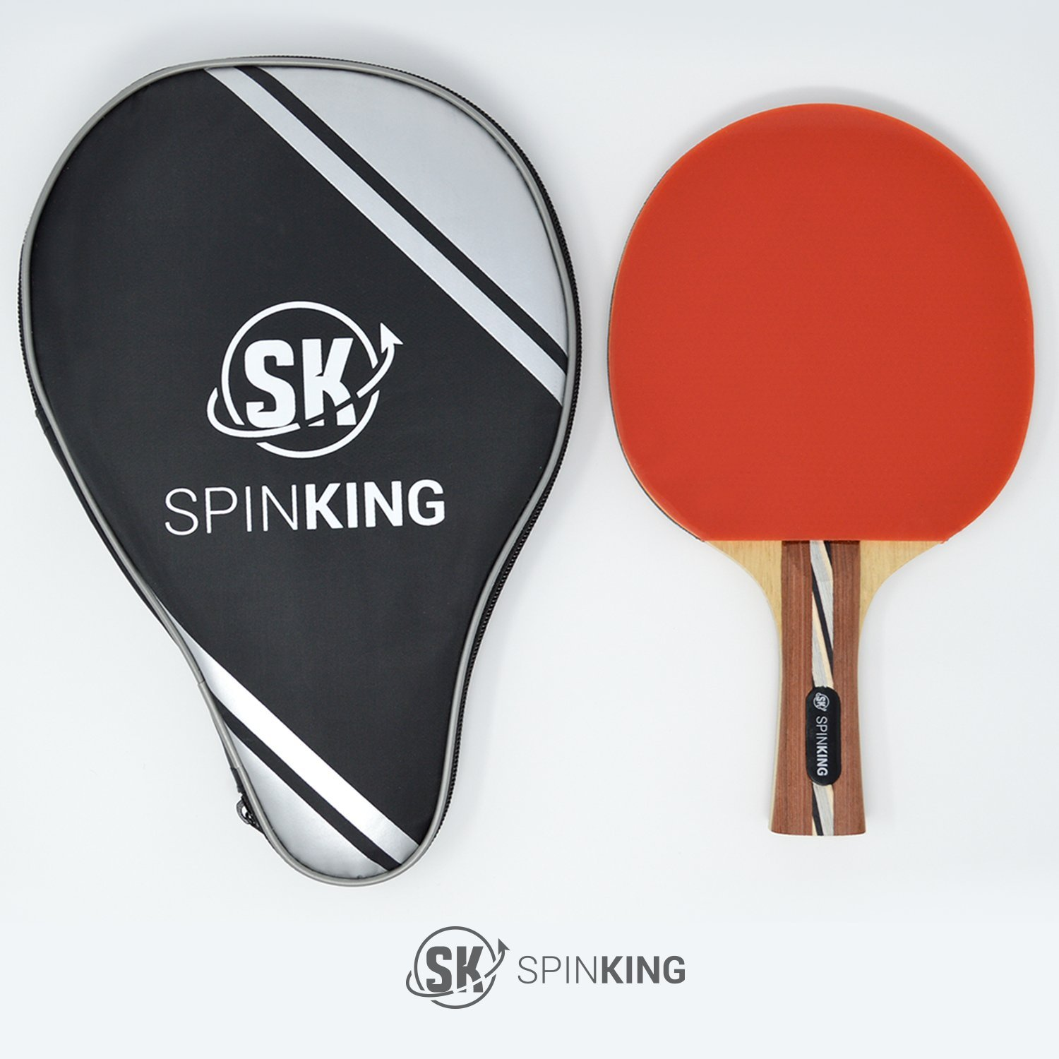 Table Tennis Paddle Kit - 7 Star Performance Ping Pong - with Free Case Included - Get The Second Kit 50% Off!