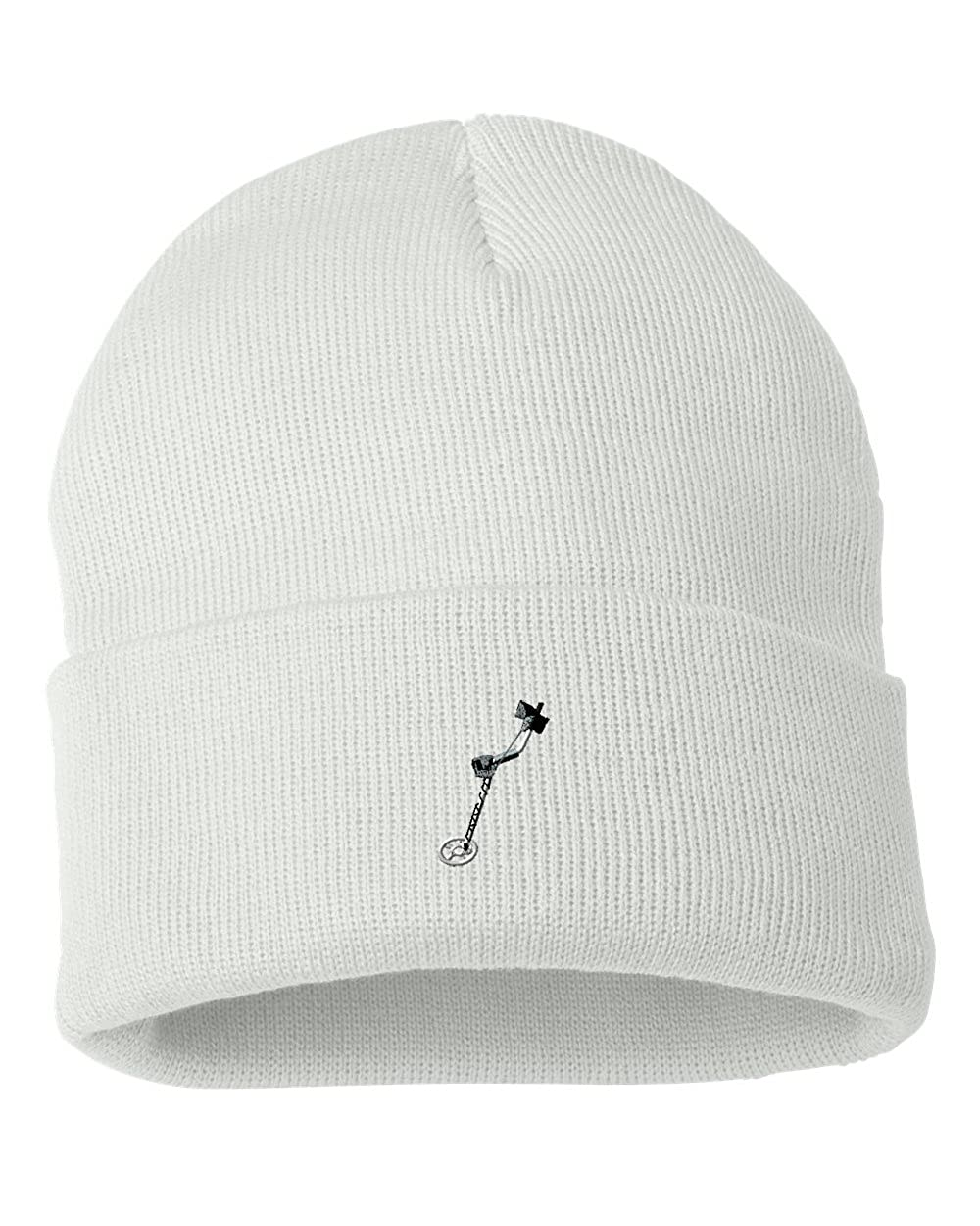 Metal Detector Custom Personalized Embroidery Embroidered Beanie