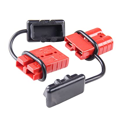 amazon com 6 10 gauge driver battery quick connect plug kit rh amazon com Ramsey Winch Wiring Diagram 120 Volt Winch Wiring Diagram