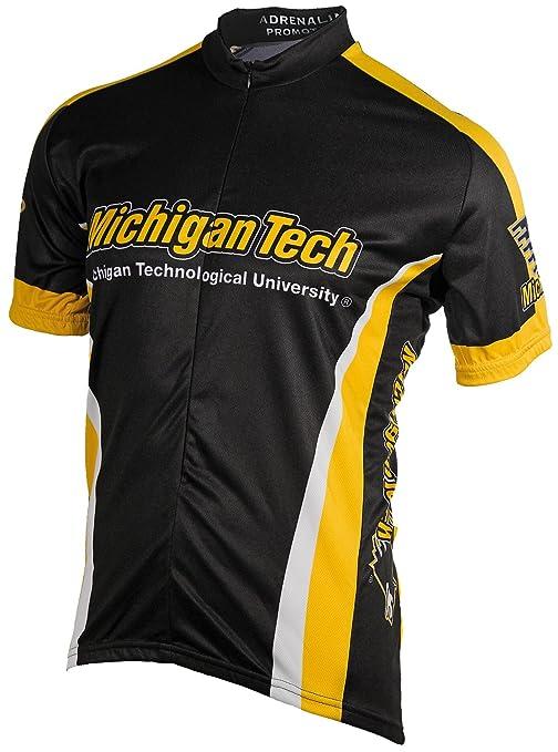 0eaa69385 Amazon.com   NCAA Men s Michigan Tech Cycling Jersey   Sports Fan ...