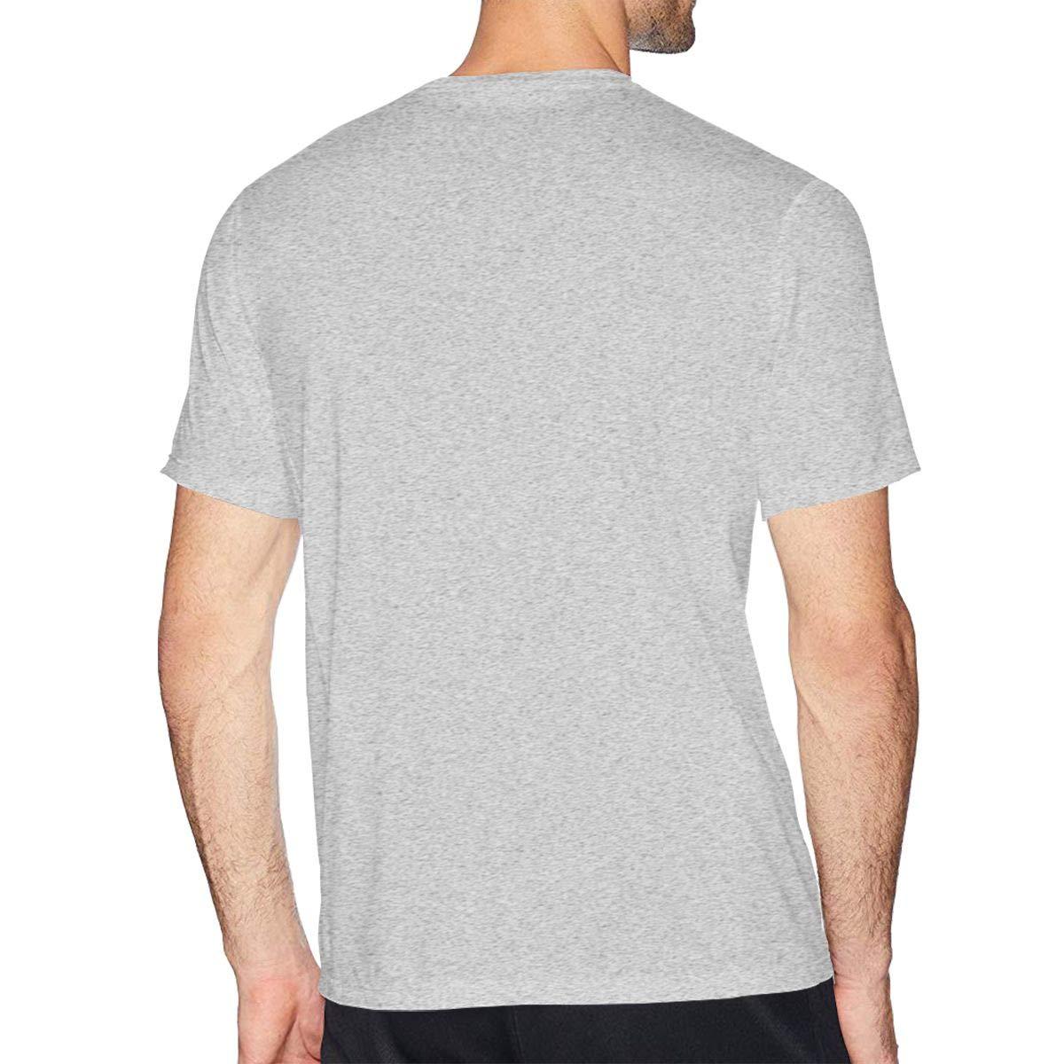 MSKKLA Angry Llama Jersey T-Shirt Men Soft Round Collar T-Shirts Tee Shirts Plus Size