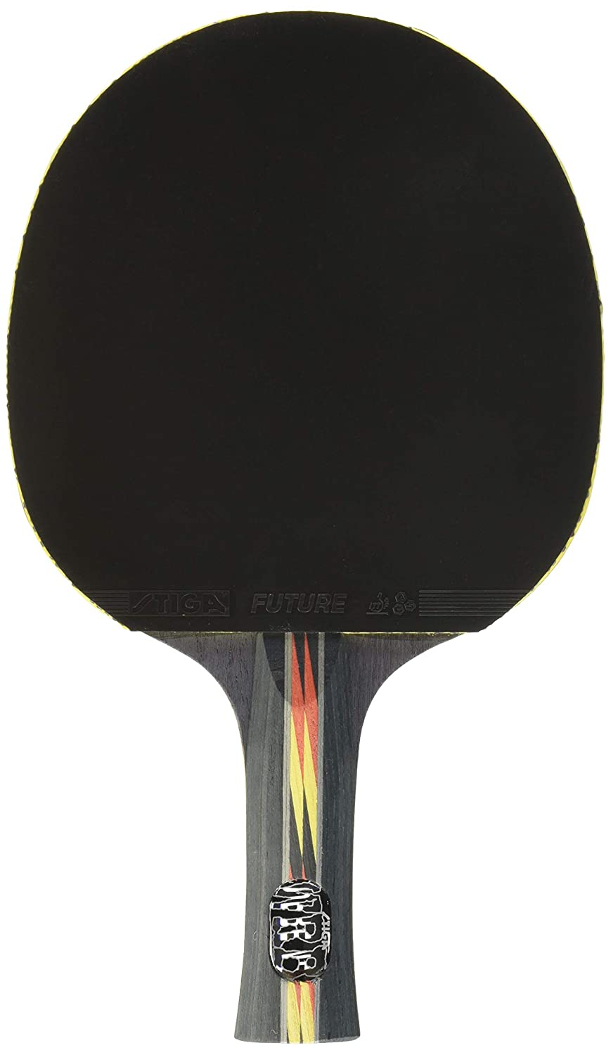STIGA Supreme Performance-Level Table Tennis Racket made with ITTF Approved Rubber for Tournament Play – Features STIGA ACS for Control and Speed