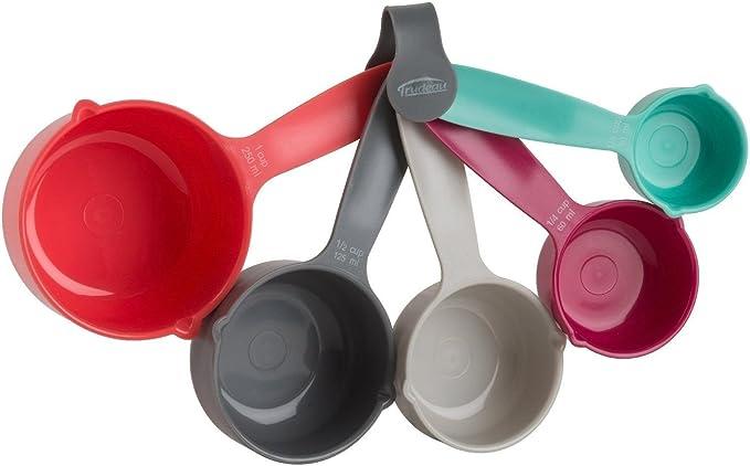Trudeau Structure 5pc Measuring Cup /& 5pc Measuring Spoon Set