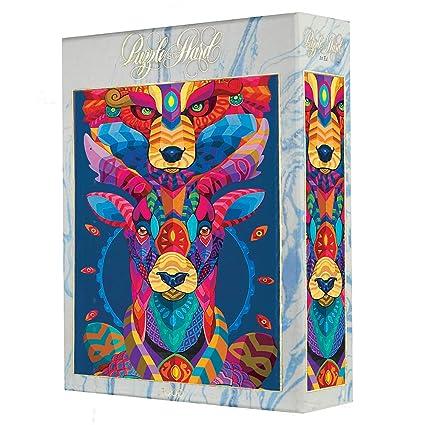 Amazon.com: Puzzle So Hard - Tótem Mural - Puzzle 1000 ...