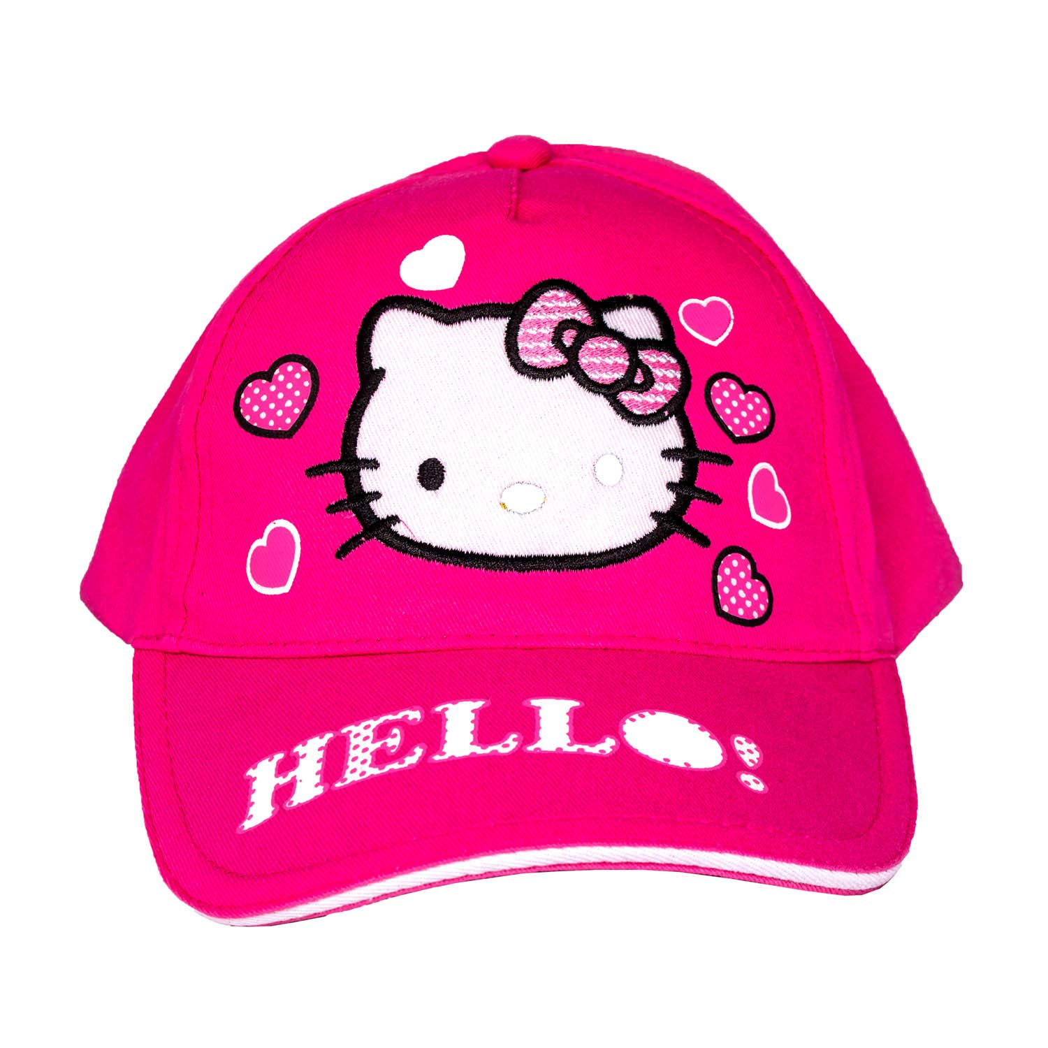3d995942d Amazon.com: Hello Kitty Girls Baseball Cap Pink Color Hat with ...