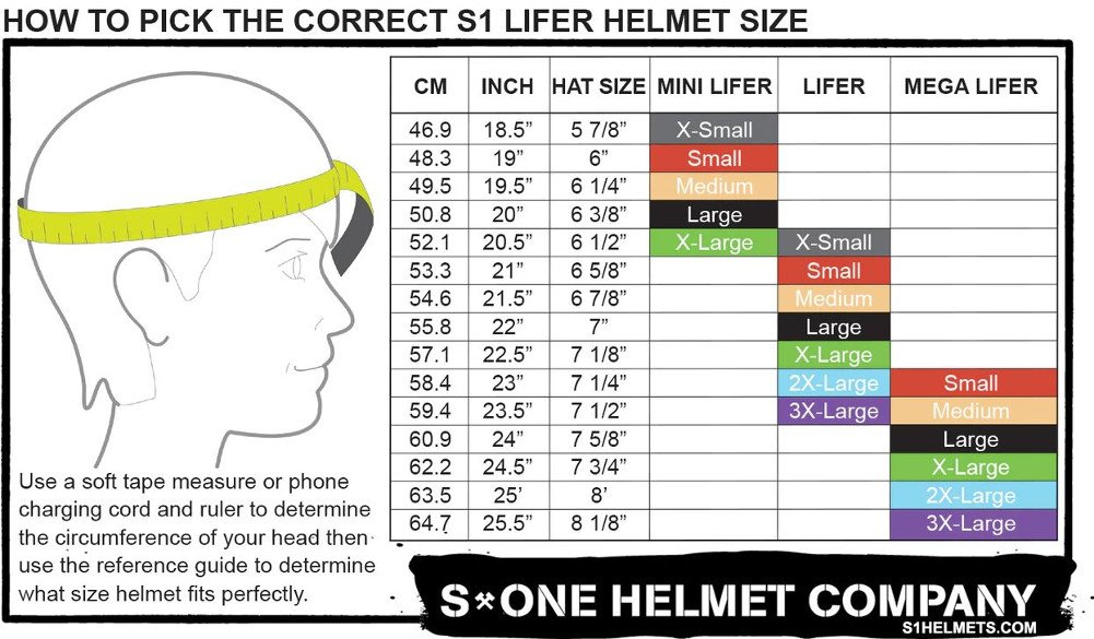 S-ONE Lifer CPSC - Multiple Impact - CPSC Certified - Black Matte w/Purple Straps, Small (21'') by S-ONE (Image #2)