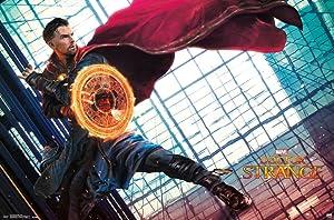 Trends International Doctor Strange Cloak Movie Poster 34x22 inch