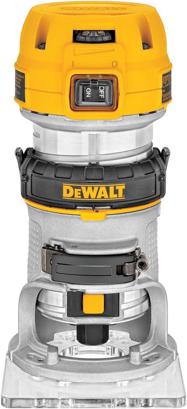 DeWalt D26200-QS Affleureuse électronique 900W 27000tr/min 6-8mm