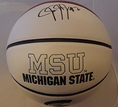aed2c01ce Image Unavailable. Image not available for. Color  Jaren Jackson Autographed  Ball - Jr ...