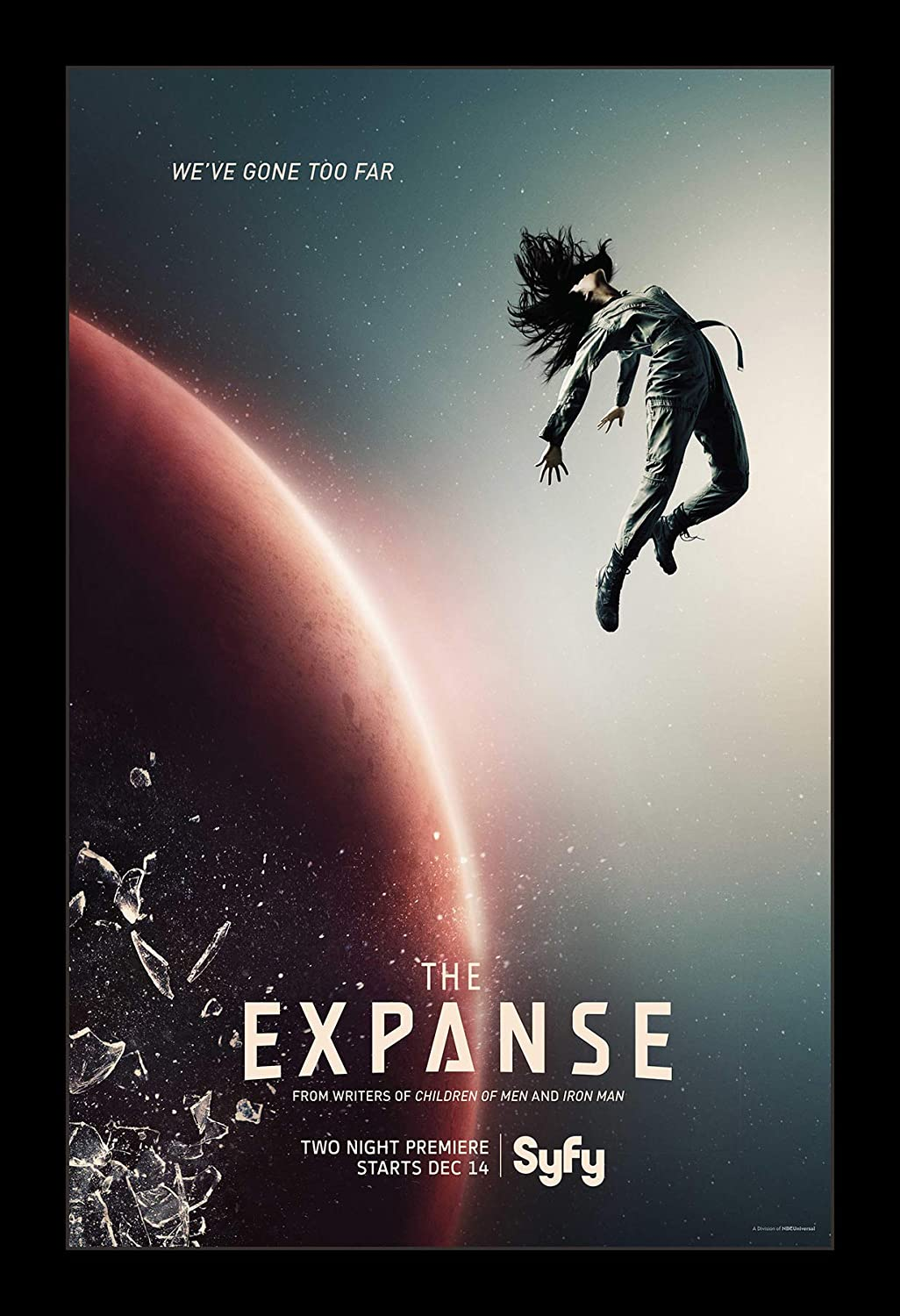 Amazon.com: Wallspace 11x17 Framed Movie Poster - The Expanse: Posters &  Prints