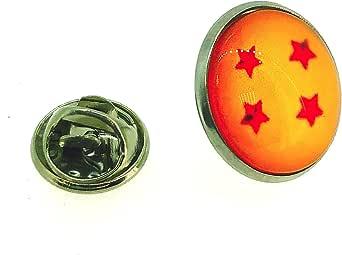 Gemelolandia   Bola de Dragón Accesorios: pin Dragon Ball, llavero Dragon Ball, gemelos Bola de Dragón Gemelos Originales Para Camisas   Para Hombres y Niños