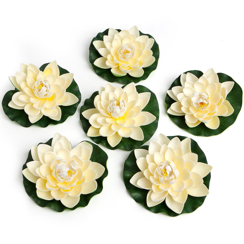 Colorful Soft White Foam Flower Wall Decor Motif - All About Wallart ...