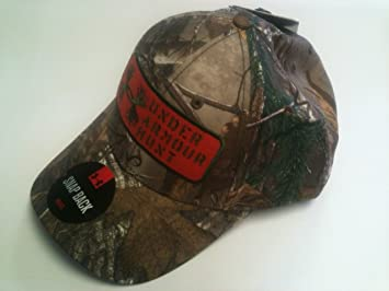 Image Unavailable. Image not available for. Color  Under Armour 1246831 UA Camo  Antler Patch Cap ... 4e9aebb4c10