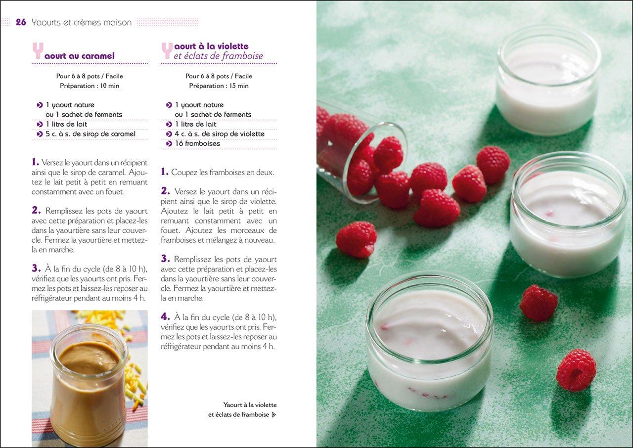 Amazon.fr - 100 recettes de yaourts et crèmes maison - Collectif - Livres