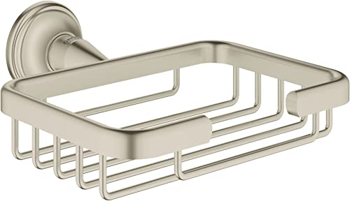 Grohe 40659EN1 Essentials Authentic Filing Basket Infinity Finish, Brushed Nickel InfinityFinish