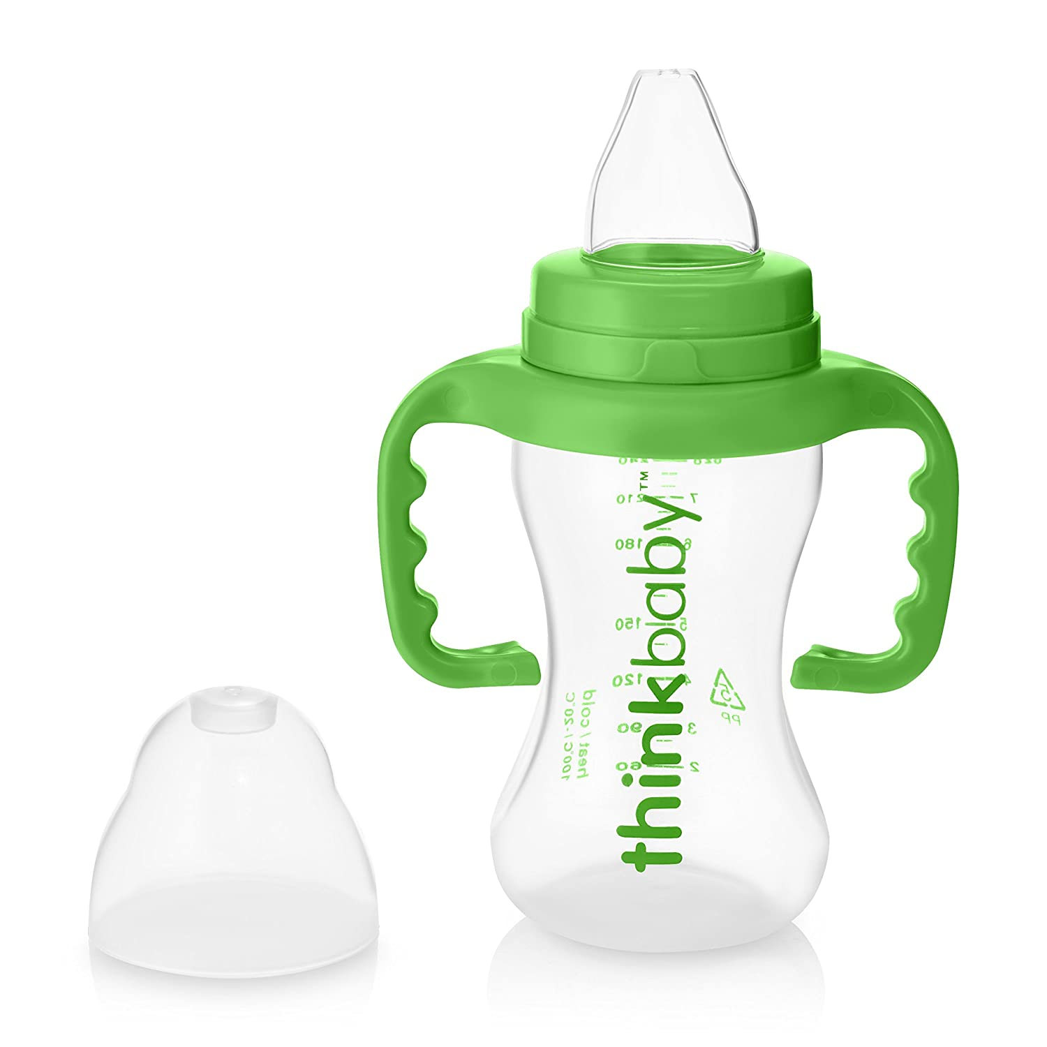 thinkbaby Sippy Cups, Light Green, 9 Ounce Sippy Lt Green