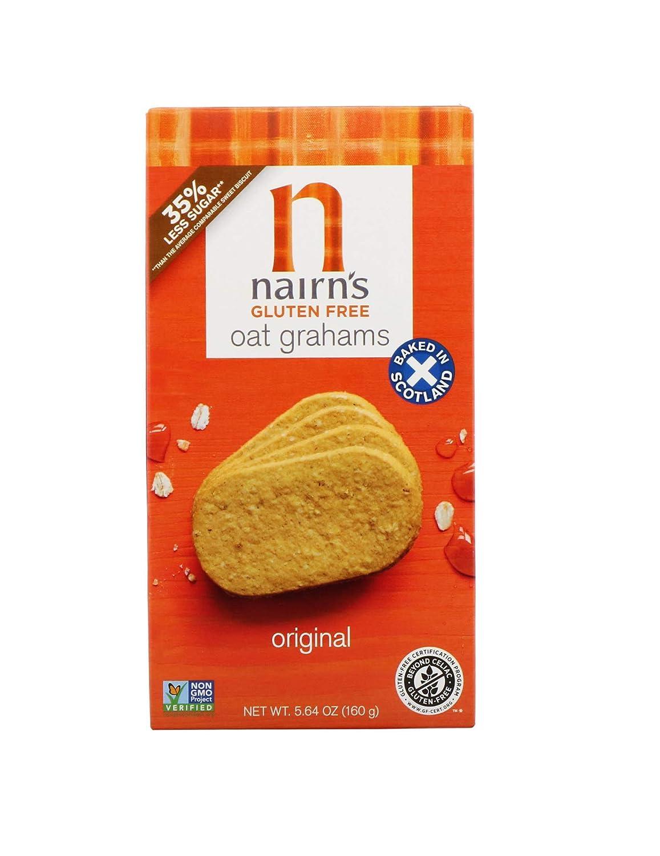 Nairn's, Gluten Free Oat Grahams, Original, 5.64 Ounce