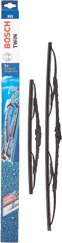 Bosch Scheibenwischer Twin 553 Länge 550mm 340mm Set Für Frontscheibe Auto