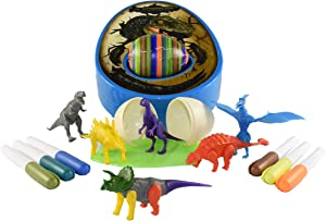 The DinoMazing Dino and Easter Egg Decorator - Includes 2 Dino Eggs with Mystery Dinosaur in Each Egg