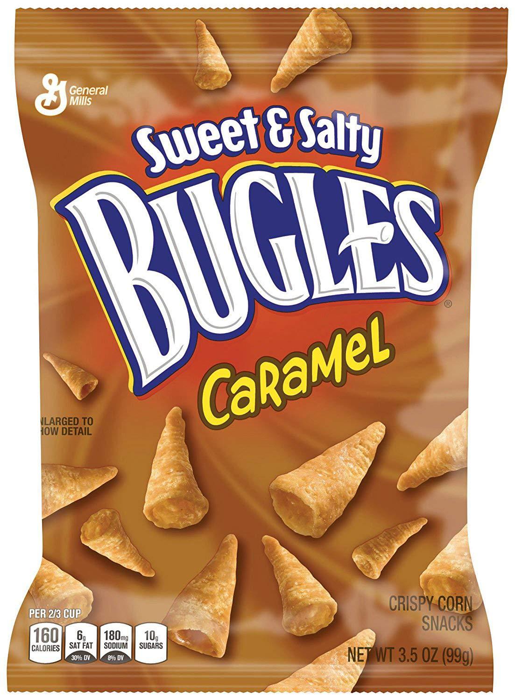 Sweet & Salty Caramel Bugles Snack, 7 - 3.5oz Bags