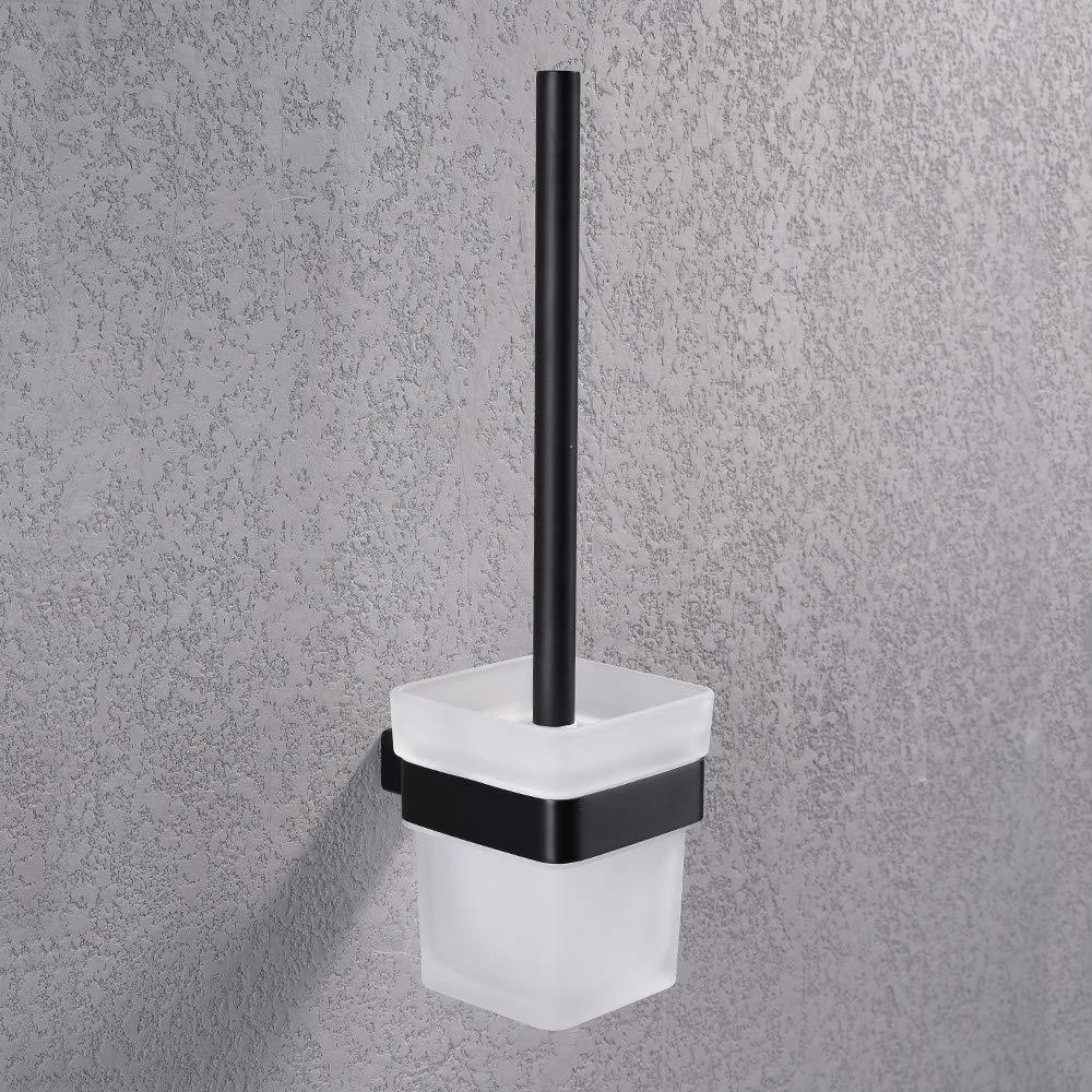 plateado estilo moderno acabado cepillado Soporte de papel higi/énico para toallas de ba/ño de acero inoxidable con gancho Turs resistente al /óxido para colgar rollos de pa/ñuelos N1SERIES-P