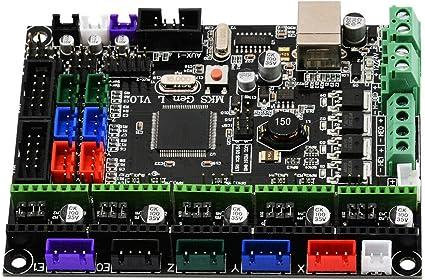 Cikuso - Placa de Control para Impresora 3D (Mks Gen L V1.0, Placa ...
