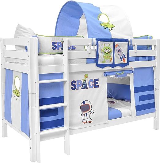 Letto A Castello Faggio.Letto A Castello Per Bambini In Faggio Amazon It Casa E Cucina