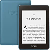 "Kindle Paperwhite | Waterproof, 6"" High-Resolution Display, 8 GB—with Special Offers—Twilight Blue"
