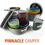 GSI OUTDOORS PINNACLE CAMPER COOKING/DINING SET