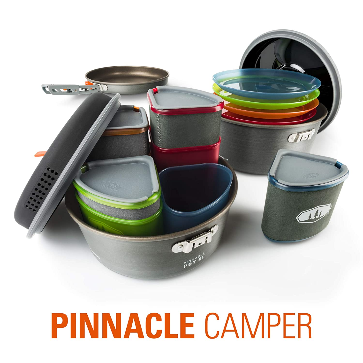 new arrival 5b576 b0d22 GSI Outdoors - Pinnacle Camper, 4 Person Camping Cook Set