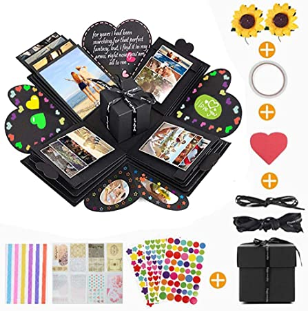 Caja Sorpresa Creativa Explosion Box, KIPIDA DIY Photo Album ...