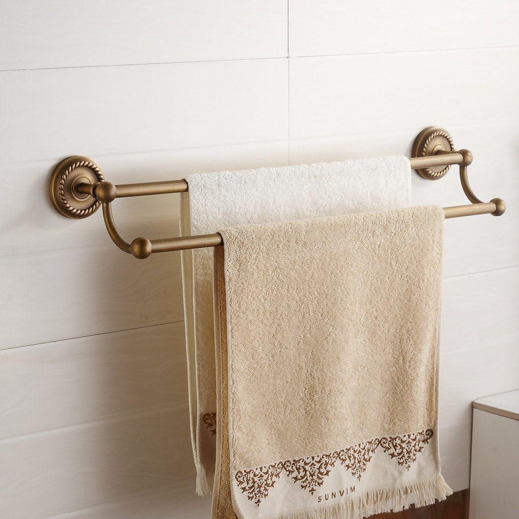 in bronzo retr/ò extra forato stile vintage Porta asciugamani da parete Weare Home
