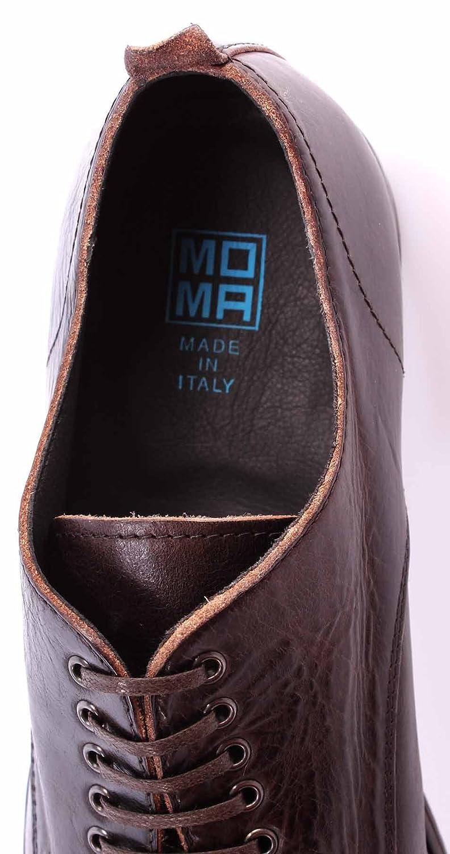 MOMA Herren Dunkel Schuhe 51503-RB Macao TMORO Derby Business Vintage Dunkel Herren Braun ITA - b17ebb
