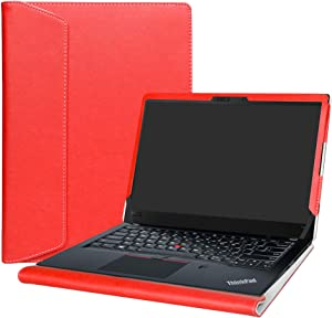 Alapmk Protective Case for 14 Inch Lenovo ThinkPad T14 T14s P14s T490 T495 T495s T490s T480s/ThinkPad P43s Laptop(Not fit thinkpad T480),Red