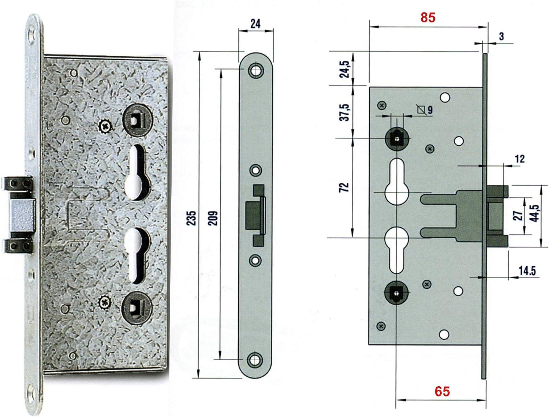 Corbin Nemef Pn9000365 - Cerradura antipánico: Amazon.es: Bricolaje y herramientas