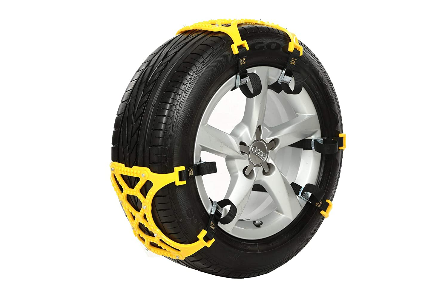 OSIAS New Snow Tire Chain for Car Truck SUV Anti-Skid Emergency Winter Driving .