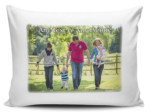 Design Own Pillowcase Uk: Design Your Own Custom Personalised Pillowcase Pair  Amazon co uk    ,