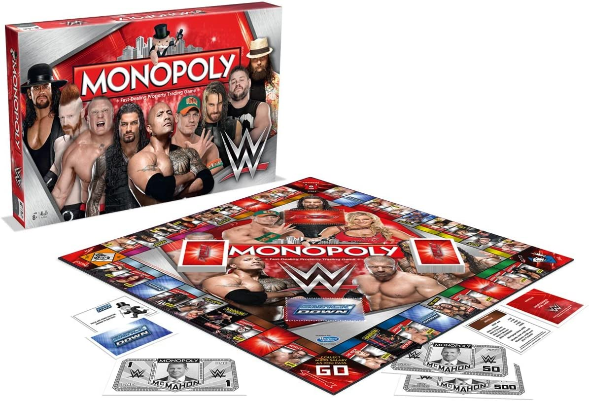 WWE Winning Moves Edition Monopoly: Amazon.es: Juguetes y juegos