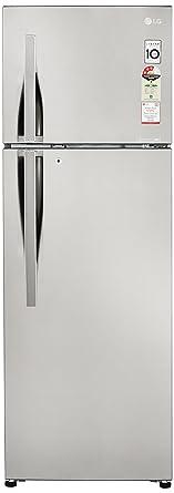 LG 308 L 3 Star Frost Free Double Door Refrigerator(GL-C322RPZU.APZZEBN, Shiny�