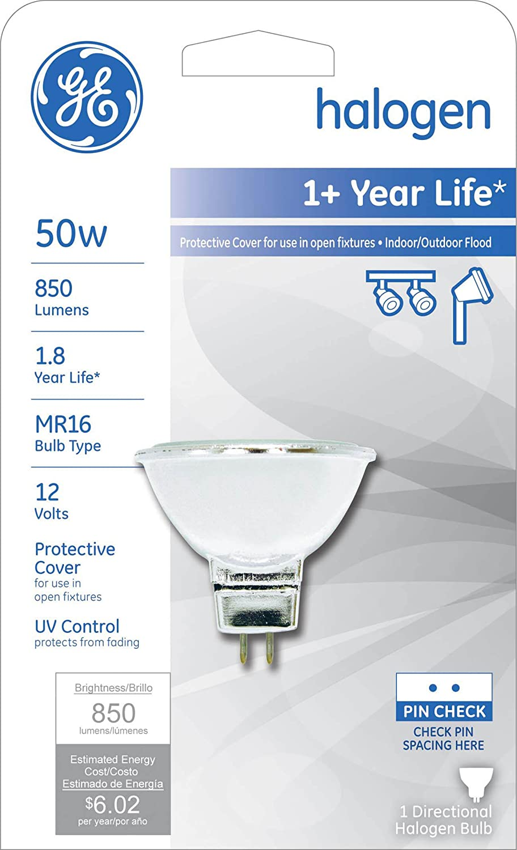x6-50 Watt MR16 Halogen 12V 50W Flood Light EXZ Bulbs Dichroic Cool Open Type 6