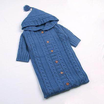 mimixiong bebé saco de dormir patrones para tejer algodón sobres para recién nacidos cochecito de bebé