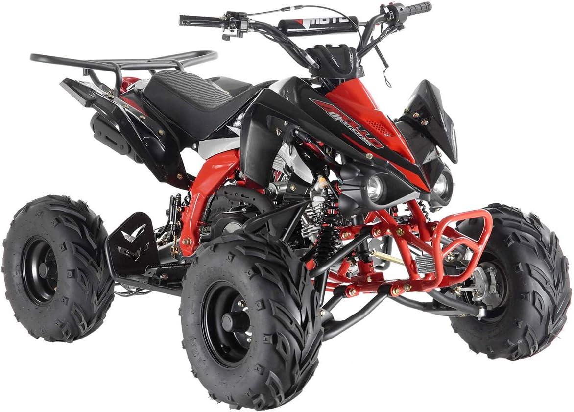 X-PRO 125cc ATV Quad Youth 4 Wheeler Adults ATVs Quads Middle Size 4 Wheelers