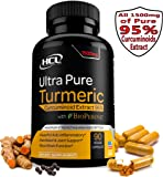 Turmeric Curcumin Supplement 19X Stronger -1500 mg of 95% Curcuminoids Extract Capsules - Pure Turmeric with BioPerine® Powder Pills is the Best Natural Joint Support, Antioxidant, Anti-Inflammatory