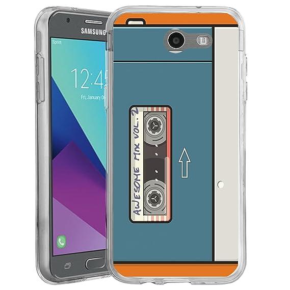 cozy fresh e9220 513cd Untouchble Case for Samsung Galaxy J3 Prime, Express Prime 2, Sol 2, J3 Pop  TPU Slim Case [FLEX MAX] Ultra Slim Flexible TPU Case Skin Design Bump ...